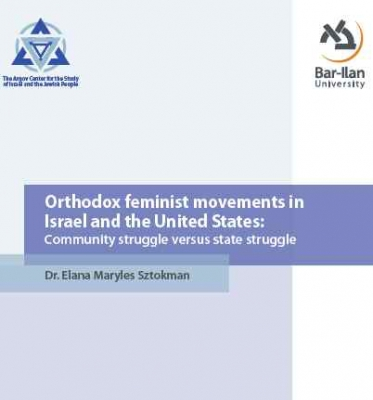 Orthodox feminist movements in Israel and the United States: Community struggle versus state struggle