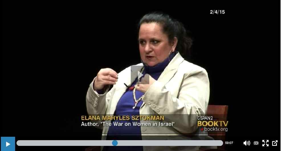 C-SPAN: Watch NCJW CEO Nancy Kaufman in conversation with Elana Sztokman about Women in Israel